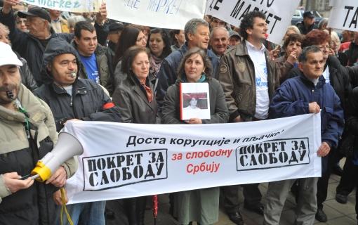 pokret za slobodu protest